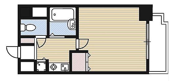 マンション(建物一部)-大阪市都島区都島本通2丁目 単身者ニーズに応える収納を確保したプラン