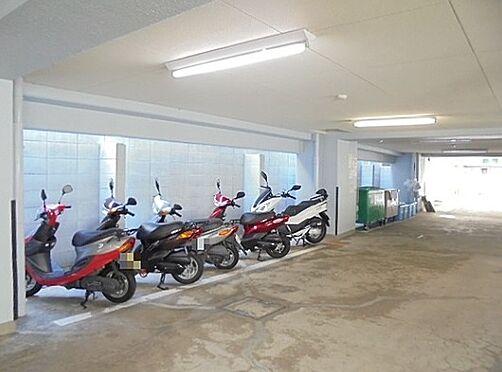 区分マンション-京都市下京区上柳町 屋内バイク置き場