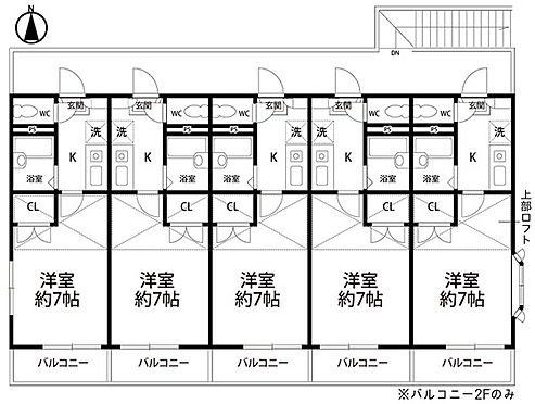アパート-仙台市泉区向陽台4丁目 間取り