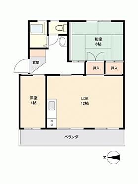 マンション(建物一部)-静岡市清水区草薙 間取り