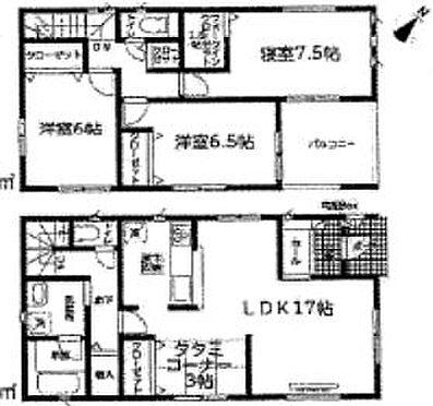 新築一戸建て-名古屋市天白区保呂町 3LDKの間取り♪