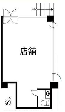 店舗事務所(建物一部)-練馬区小竹町1丁目 間取り