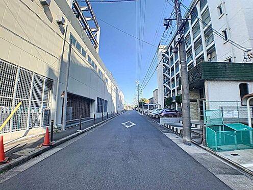 中古マンション-名古屋市昭和区山花町 交通量の少ない前面道路