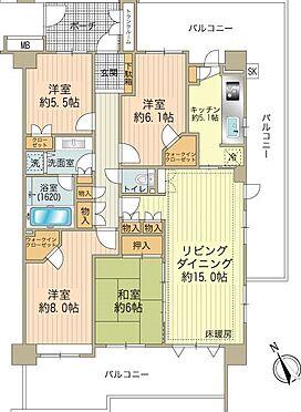 中古マンション-八王子市鑓水2丁目 101.36m24LDK