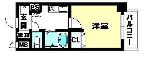 マンション(建物一部)-京都市上京区泰童片原町 間取り