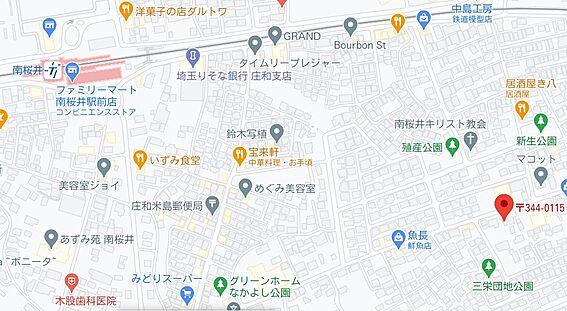 マンション(建物全部)-春日部市米島 地図