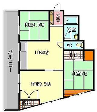 マンション(建物一部)-神戸市須磨区天神町4丁目 ファミリータイプの3LDK