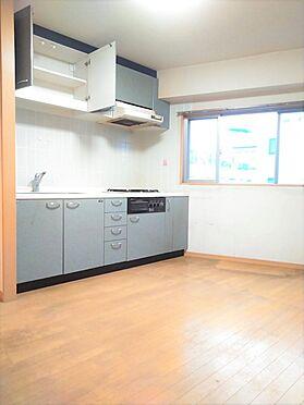 中古マンション-品川区小山6丁目 現況キッチン。キッチン交換致します。