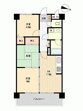 マンション(建物一部)-小平市栄町 間取り