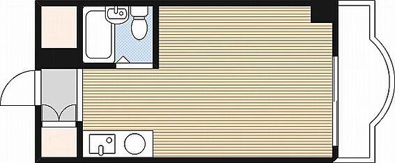 マンション(建物一部)-大阪市浪速区大国2丁目 水まわりをコンパクトにまとめた使い勝手の良い間取り