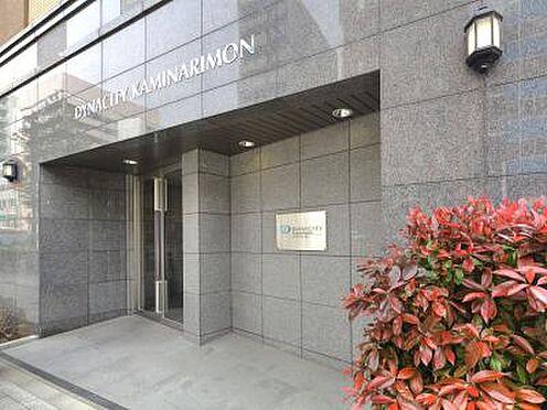 マンション(建物一部)-台東区雷門2丁目 入り口です。