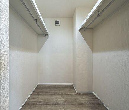 戸建賃貸-西尾市戸ケ崎3丁目 季節ごとの入替え不要、頼もしいWICを設置。(同仕様)