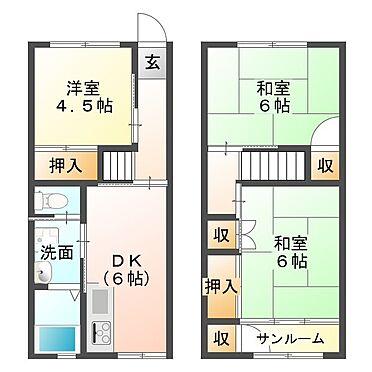 マンション(建物一部)-神戸市垂水区大町2丁目 間取り