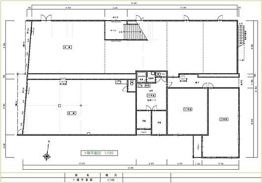 住宅付店舗(建物全部)-八街市八街ほ 店舗1階間取図