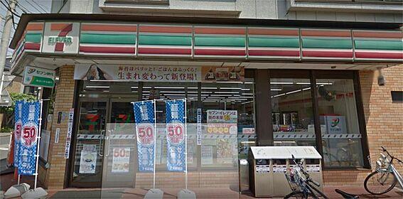 アパート-川口市芝中田1丁目 セブンイレブン 蕨塚越3丁目店(362m)