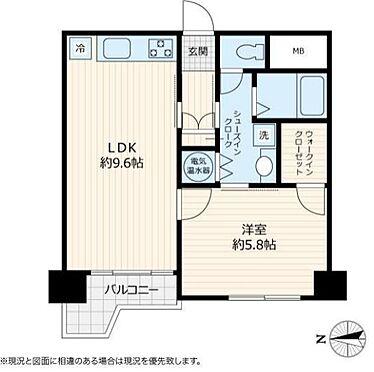 中古マンション-新宿区歌舞伎町2丁目 間取り