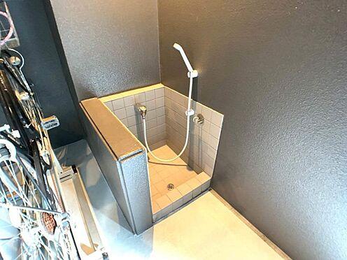 区分マンション-名古屋市中区栄5丁目 ペットの足洗い場も完備してます。