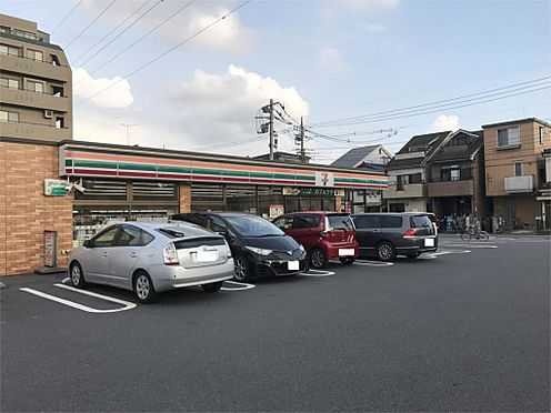 中古マンション-草加市吉町3丁目 セブンイレブン 草加吉町1丁目店(625m)