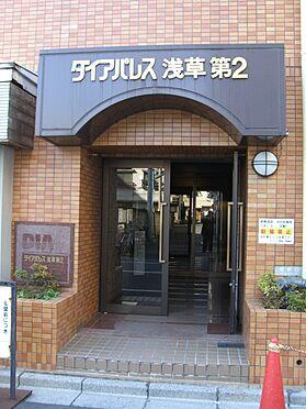 マンション(建物一部)-台東区千束3丁目 入り口です。