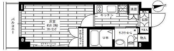 マンション(建物一部)-川崎市宮前区馬絹2丁目 間取り