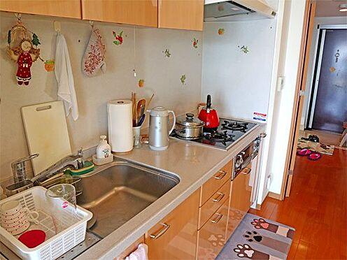 中古マンション-伊東市八幡野 〔キッチン〕状態の良いキッチンかと思います。