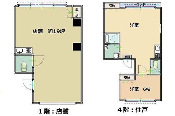 マンション(建物全部)-堺市堺区中之町東2丁 間取り