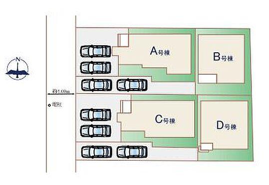 新築一戸建て-武蔵野市境南町5丁目 地図