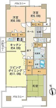 中古マンション-八王子市上柚木3丁目 収納豊富な3LDKです。