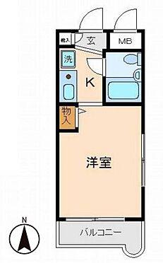 マンション(建物一部)-川崎市中原区上丸子天神町 間取り