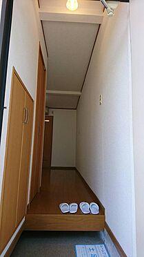 アパート-神戸市灘区大石東町6丁目 左にシューズBOX、クローゼットがあります。