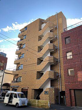 中古マンション-目黒区駒場4丁目 外壁タイル張りの外観