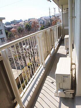 中古マンション-横浜市緑区霧が丘6丁目 南に面したバルコニー