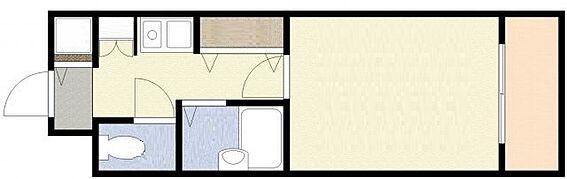 マンション(建物一部)-大阪市西区本田4丁目 シンプルな1K