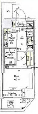 マンション(建物一部)-横浜市南区新川町2丁目 間取り