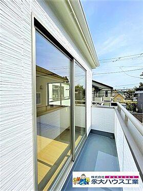 新築一戸建て-仙台市太白区富田字上野東 バルコニー