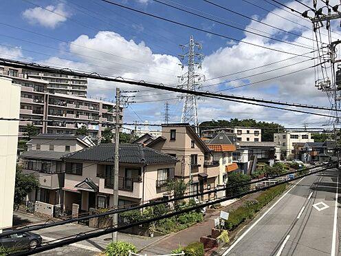 中古マンション-千葉市稲毛区黒砂台3丁目 現地バルコニーからの眺望です。