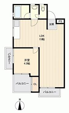 中古マンション-渋谷区代々木3丁目 間取り