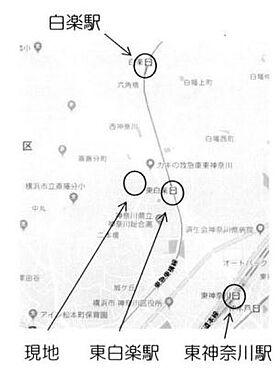 事務所(建物一部)-横浜市神奈川区平川町 地図