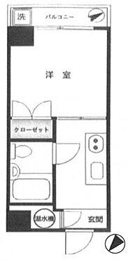中古マンション-品川区西五反田8丁目 間取り