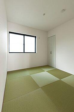 新築一戸建て-名古屋市中川区新家3丁目 あると便利な和室。来客時なども役立ちます。(同仕様)