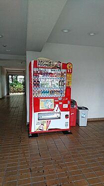 中古マンション-越谷市大字大里 マンション内に自動販売機があります
