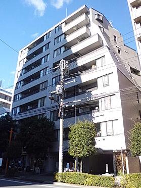 マンション(建物一部)-新宿区箪笥町 南側からのマンション画像です。