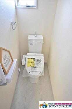 新築一戸建て-仙台市宮城野区新田3丁目 トイレ