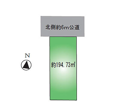 アパート-葛飾区西亀有3丁目 敷地図