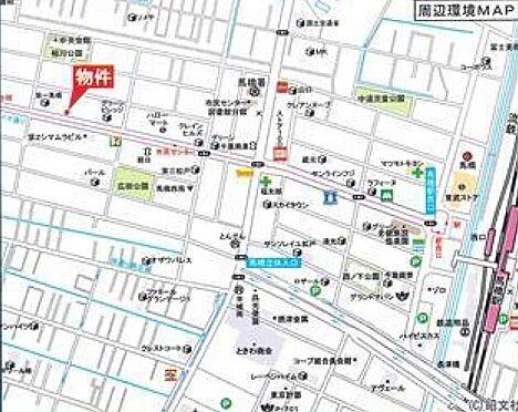 アパート-松戸市西馬橋相川町 地図