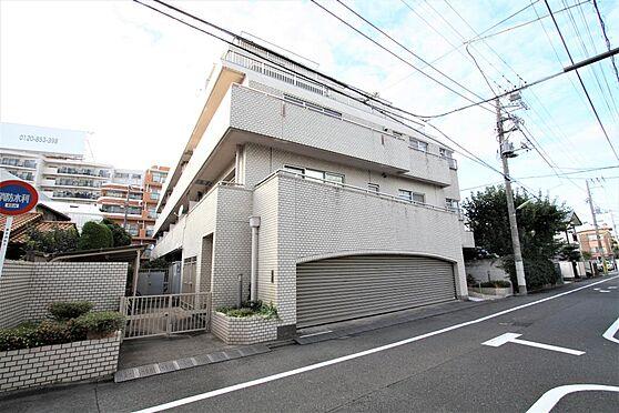 マンション(建物全部)-世田谷区上野毛4丁目 外壁タイル張りの重厚な外観