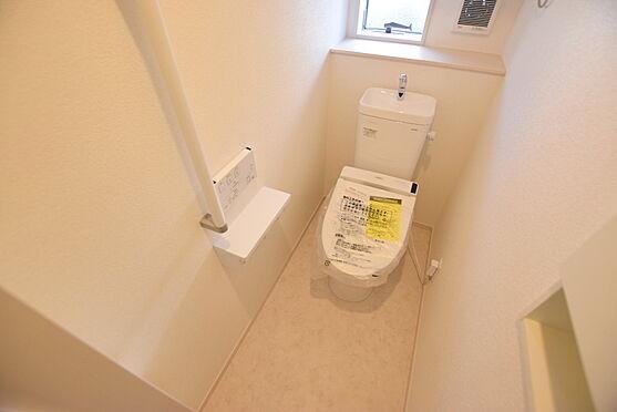 新築一戸建て-仙台市太白区四郎丸字浜堀 トイレ