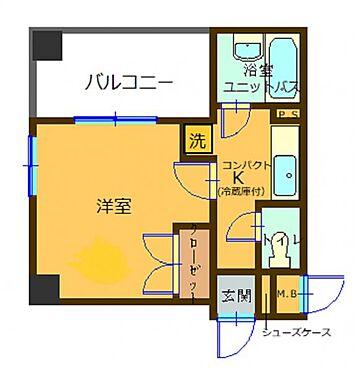 マンション(建物一部)-大阪市北区本庄東1丁目 間取り