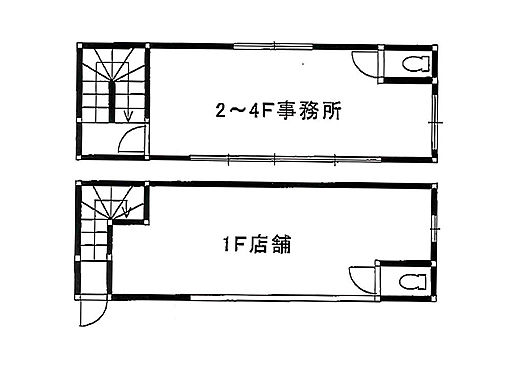 ビル(建物全部)-堺市堺区少林寺町西1丁 間取り