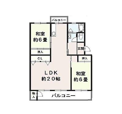 マンション(建物一部)-神戸市須磨区一ノ谷町1丁目 間取り